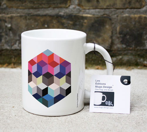 Tasse Hexagone Patchwork